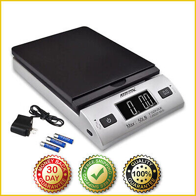 Digital Shipping Postal Scale Electronic Postage Scales Mail Package Usps 50 Lbs