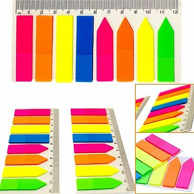 10pk Bulk Notes Page Markers Bookmark Index Sticky Notes Office Supplies 3200pc