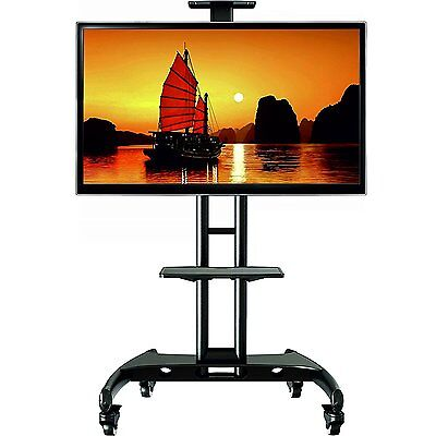 Universal Mobile TV Cart with Mount for (fits 32