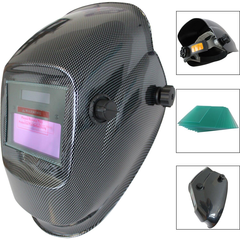 Automatik Solar Schweißhelm Ersatzglas Schweißschild Schweißschirm Schweißmaske