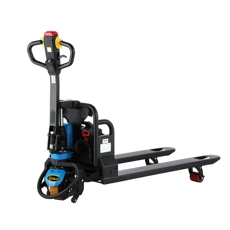 """APOLLOLIFT Electric Pallet Jack Lithium Battery 3300lbs Capacity 4.3""""Lift Height"""