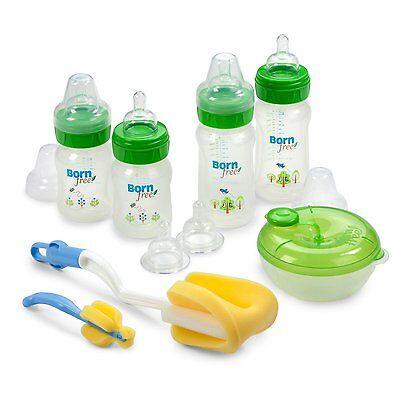 Born Free BPA-Free Decorated Bottle Gift Set Baby Born Infant Baby Bottle