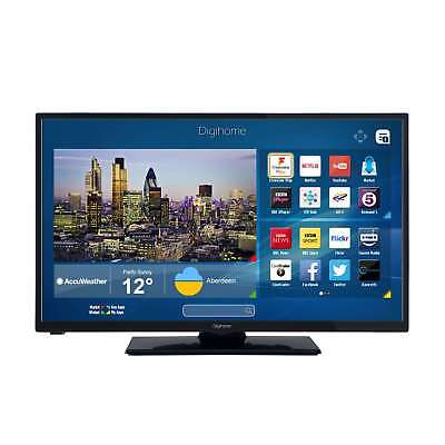 Digihome 32273SFVPT2HD Black 32Inch HD Ready Smart LED TV with Intergrated WiFi