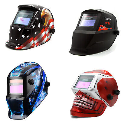 Electrical Grinding Adjustable Solar Auto Darkening Welding Helmet