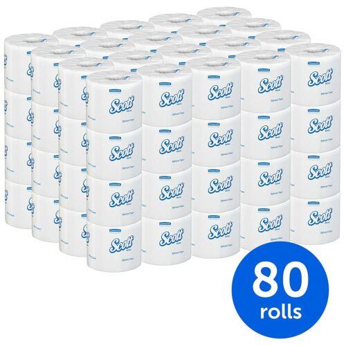 Scott Essential Professional 100% Recycled Fiber Bulk Toilet Paper for Business