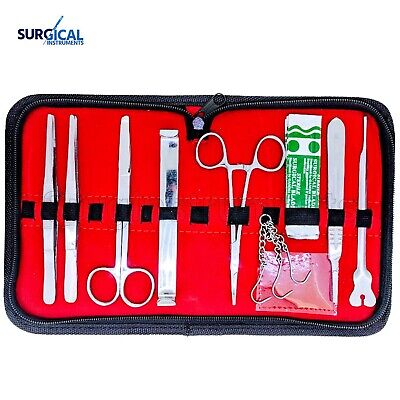 11 Pcs Anatomy Student Dissection Kit