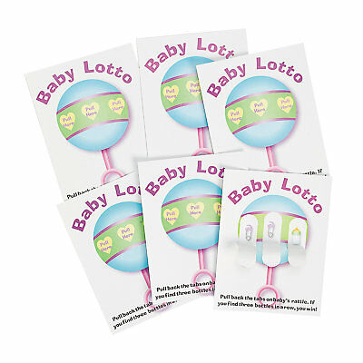Baby Shower Game 24 BABY LOTTO PICKLE CARDS - NEW (Baby Shower Bingo Cards)