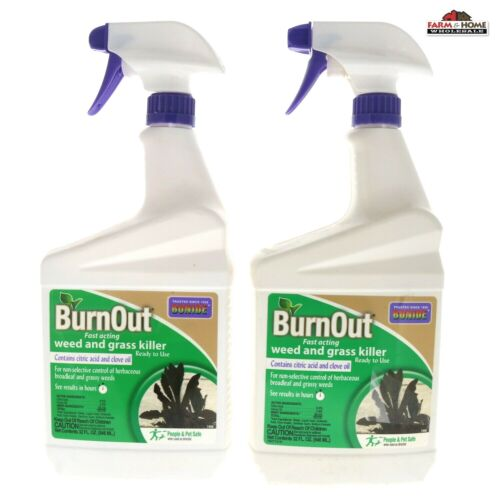 Bonide 7490 Burn Out Weed and Grass Killer ~ New