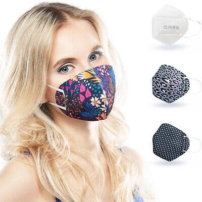 ALB Stoffe® CoverMe - 3 Cover HeiQ-Viroblock +1er Pack, MIX 1, Nasen-Mund-Masken