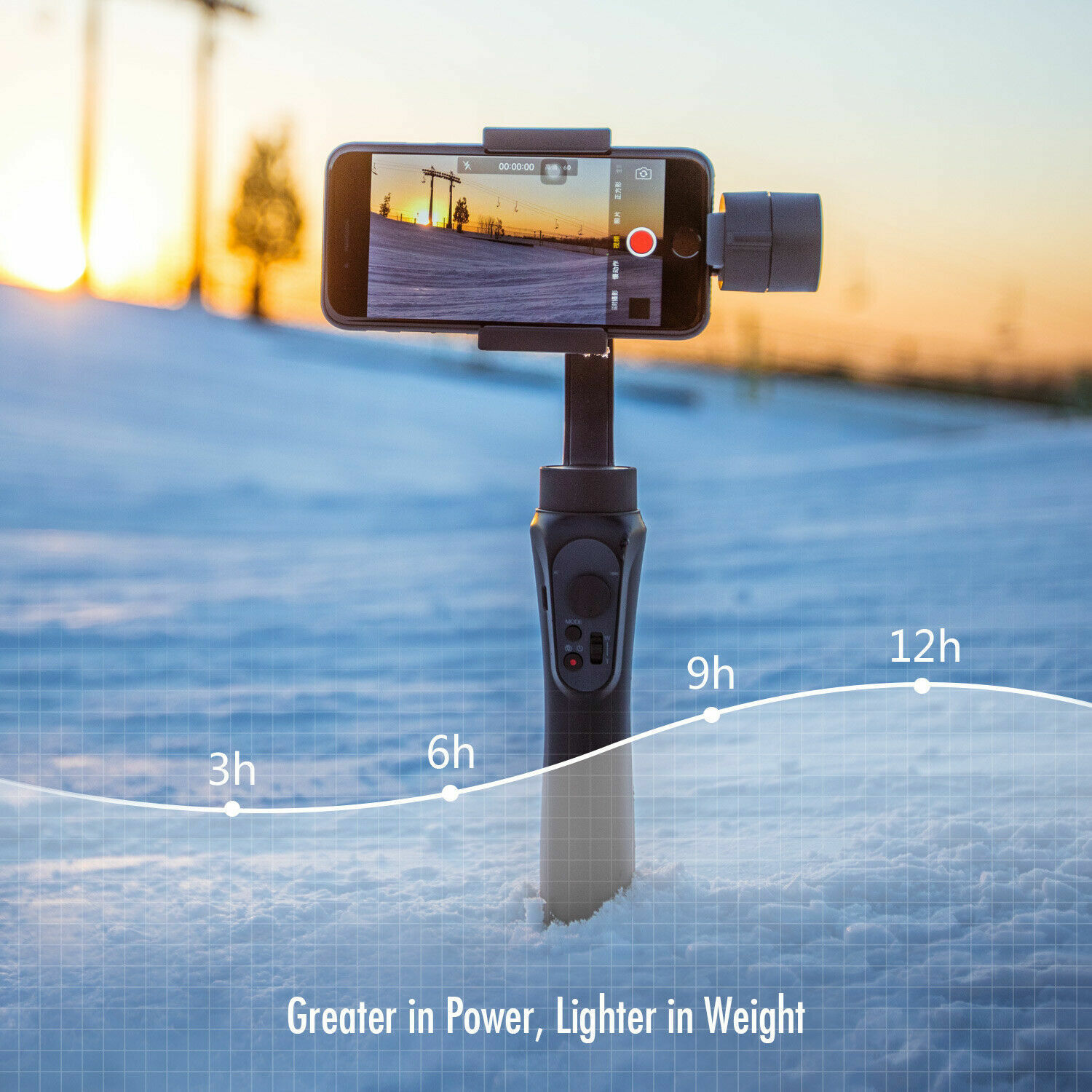 2 von 11 : USED Zhiyun Smooth-Q Handheld Gimbal Stalilizer for Smartphone iPhone Android  • 32,88 €