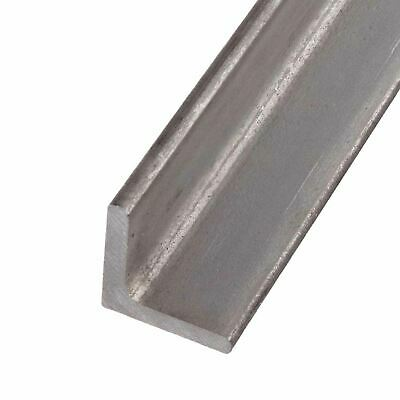 304 Stainless Steel Angle 1-12 X 1-12 X 14 X 12 Inches