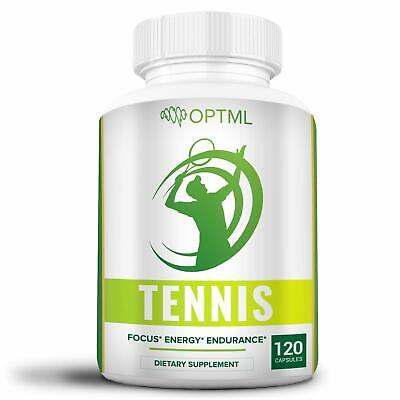 OPTML Tennis Performance Supplement | Energy Booster to Win More | 120 Capsules for sale  Shipping to India