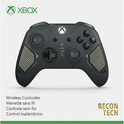 Xbox One Wireless Controller Recon Tech Special Edition [XB1 S XBONE Windows 10] for sale  Sweet Grass