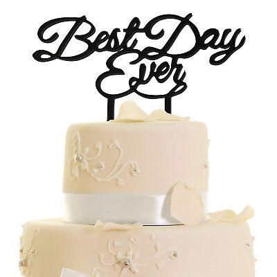 JennyGems - Best Day Ever - Wedding & Anniversary, 16th & 21st Birthday, (Best Wedding Cake Toppers Ever)