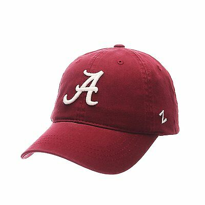 Ncaa Alabama Crimson Tide Scholarship Relaxed Red Adjustable Slouch Hat   Cap