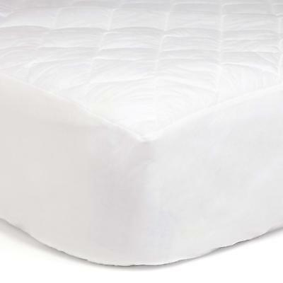 Twin Extra Long Quilted Mattress Pad Deluxe Cotton Mattress Pad TXL Bedding Twin Extra Long Mattress