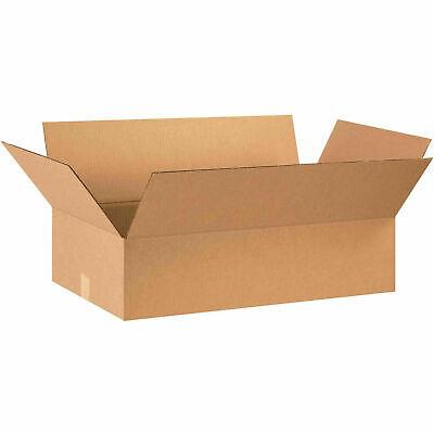 28 X 16 X 7 Flat Cardboard Corrugated Boxes 65 Lbs Capacity 200ect-32