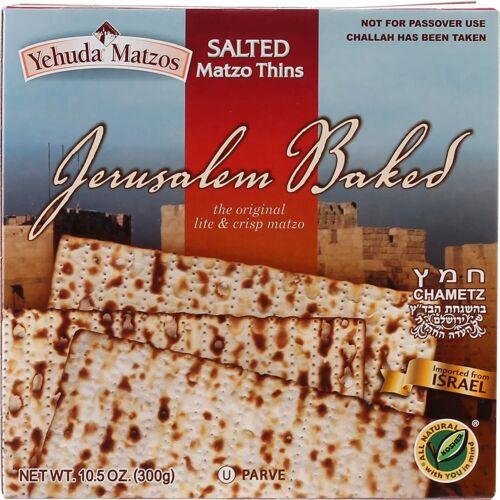 Yehuda Salted Matzo Thins, 10.5 OZ