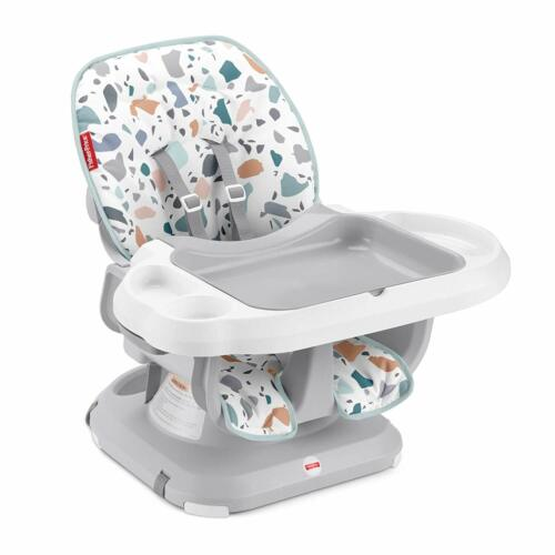 Fisher-Price SpaceSaver High Chair - Pacific Pebble, Infant-to-Toddler Dining Ch