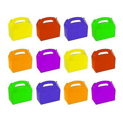 Baby Shower Treats (12 Assorted Bright Color Treat Boxes Birthday Party Favors Baby Shower Favor)