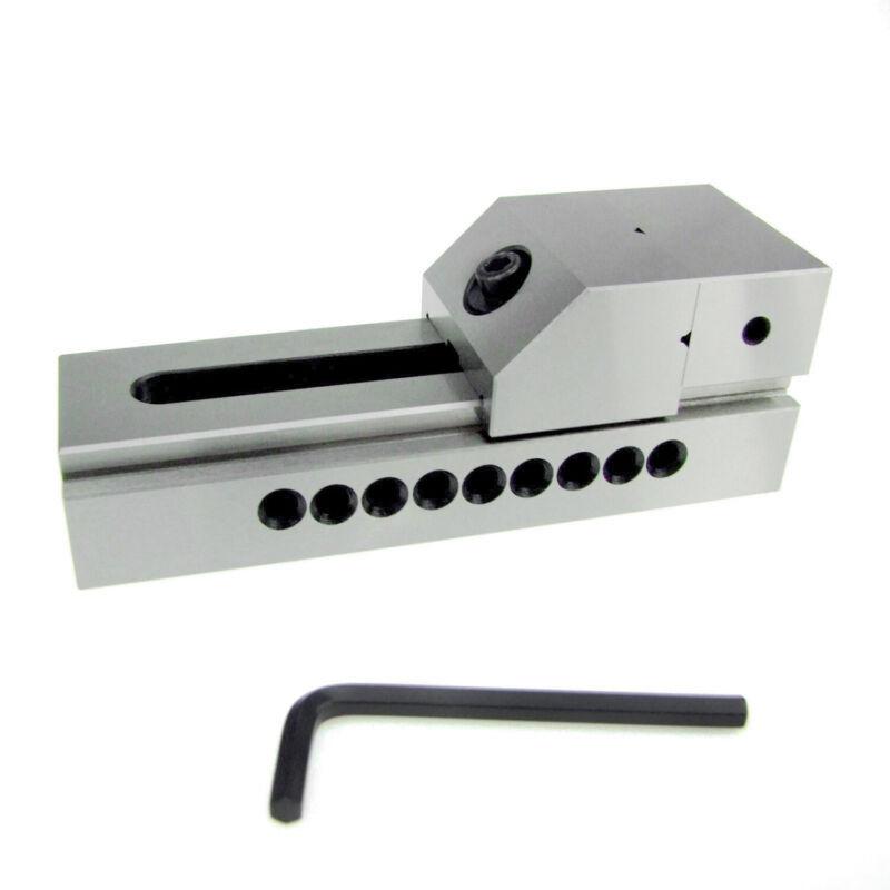 "HFS(R) 2"" Precision Grinding Screwless Mini Insert Vise Toolmaker Steel .0002"""