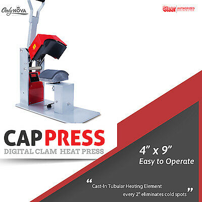 Siser Digital Clam Capheat Press 4x9 Free Shipping