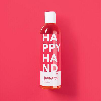 """250ml Erotik Massageöl """"Happy Hand"""" neutral ätherisch dermatologisch parfümfrei"""