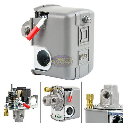Square D 95-125 Psi 4 Port Air Compressor Pressure Switch 9013fhg14j52m1x New