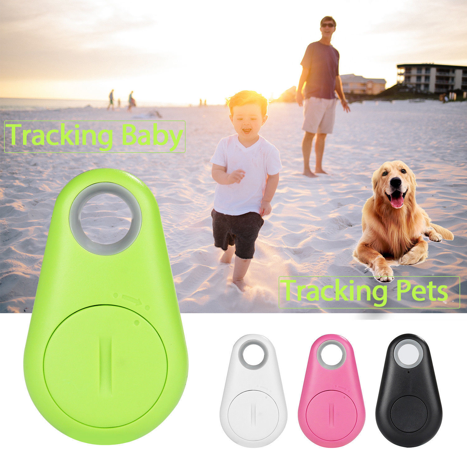 BLUETOOTH WIRELESS ANTI LOST TRACKER ALARM KEY CHILD PET FIN