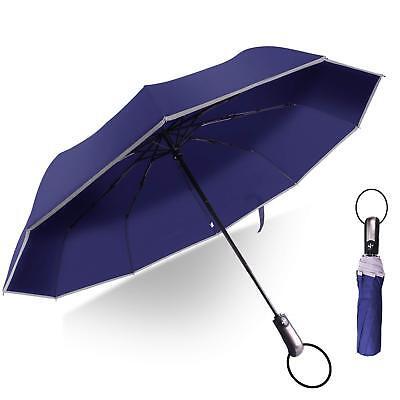 Paraguas Plegable con Apertura y Cierre Automático Anti UV Viento y Agua...