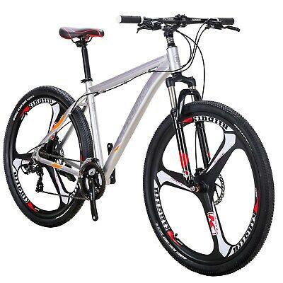 Lightweight Aluminium Frame Mountain Bike 21 Speed Disc Brake 29er Men Bicycle