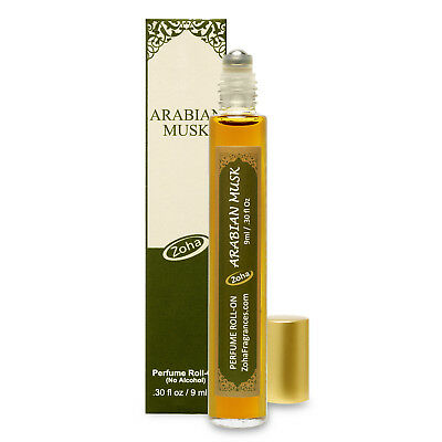 Arabian Musk Perfume Oil - Arabian Musk Perfume Oil Roll-On (No Alcohol) Fragrance Oil by Zoha Fragrances