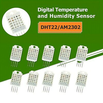 10pcs Dht22am2302 Digital Temperature And Humidity Sensor Us Shipping