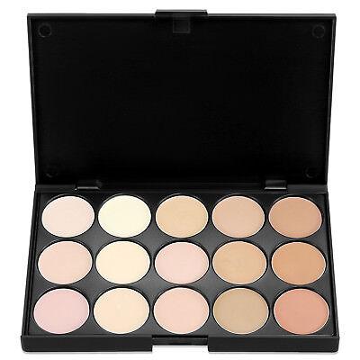 15 Colors Makeup Concealer Palette-Cream Contour Kit- Blemish Face Highlighter