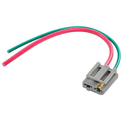 new hei distributor wire harness pigtail dual 12v power ... chevy 350 hei distributor wiring diagram