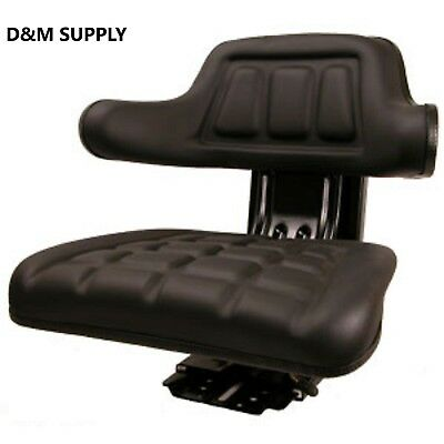Tractor Seat Ford Massey New Holland Ih Allis Suspesion Seat Black