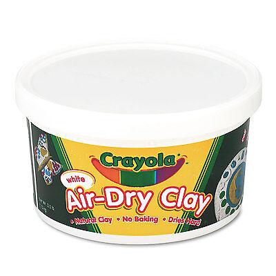 Crayola Air-Dry Clay White 2 1/2 lbs 575050