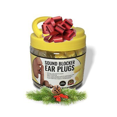 Sound Blocker Ear Plugs for Sleeping - Best Hearing Protection for