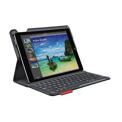 Logitech iPad Air 1 / Air 2 Type+ Plus Wireless Bluetooth Keyboard Folio Case