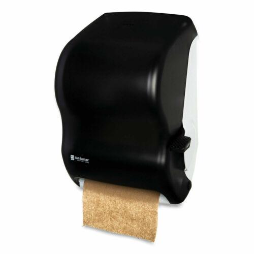 Lever Roll Towel Dispenser Classic 12.94 x 9.25 x 16.5 Transparent Black Pearl