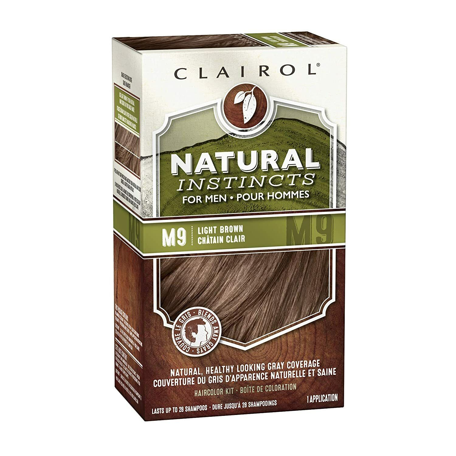 Clairol Natural Instincts Semi-Permanent Hair Color Kit For