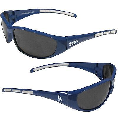 Los Angeles Dodgers Wrap Sunglasses MLB Licensed (Dodgers Sunglasses)