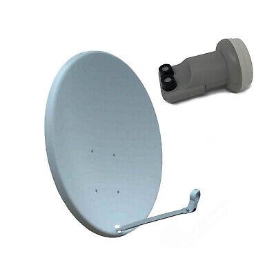 90cm Antena Parabólica con Doble Universal LNB