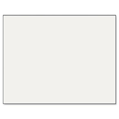Pacon Six-Ply Poster Board 28 x 22 White 25/Carton 54611