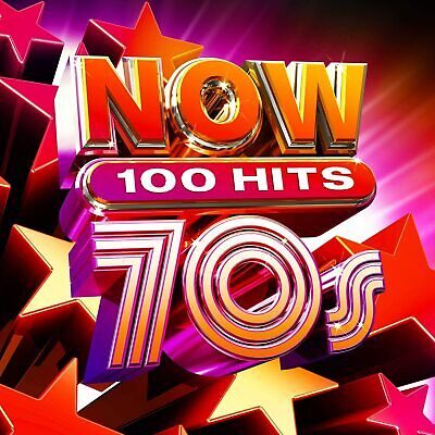 NOW 100 Hits 70s - Various [CD] Released On 12/06/2020