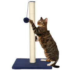 LIVINGbasics® Cat Scratch Play Post Kitten Scratching Pole Stand With Toy Ball