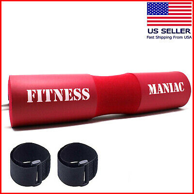 Foam Barbell Bar Pad Weight Lifting Pull Up Back Shoulder Support Gym Equipment for sale  Shipping to Nigeria