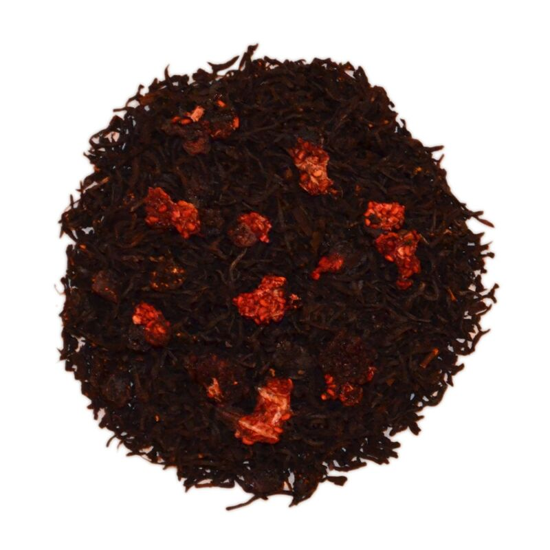 Nassim Tea Natural Raspberry Herbal Loose Tea Leaf