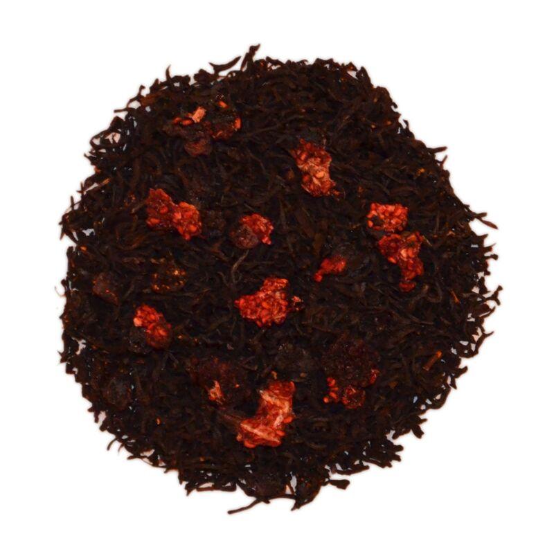 Nassim Tea Natural Raspberry Herbal Loose Tea Leaf