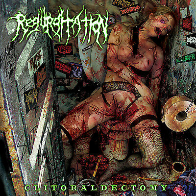 "REGURGITATION ""Clitoraldectomy"" death metal CD"